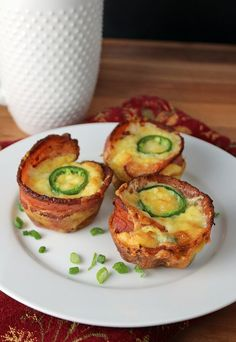 A personal favorite of mine on #keto: Jalapeno Poppers, made into a quick and simple breakfast treat! Shared via www.ruled.me