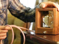 Simple Modern Cube Desk Lamps