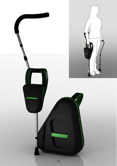Foldable Crutches for better Mobility and  Comfort