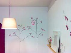 washi tape décor à la maison