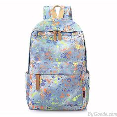 How nice Leisure Fresh Graffiti Inkjet Denim Color Bag School Bag Backpack ! I want to get it ASAP! Galaxy Backpack, Lace Backpack, Retro Backpack, Backpack For Teens, Canvas Backpack, Backpack Bags, Cute Backpacks, Girl Backpacks, School Backpacks