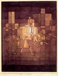 Urban Perspective - (Paul Klee)