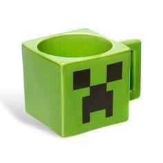 Minecraft – Creeper Mug  (coffee) (coffee cups) (coffee art) #coffee # coffee cups #coffee mugs