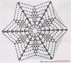 49 ideas for crochet mandala white Crochet Snowflake Pattern, Crochet Stars, Crochet Motifs, Crochet Blocks, Crochet Snowflakes, Crochet Flower Patterns, Crochet Mandala, Doily Patterns, Thread Crochet