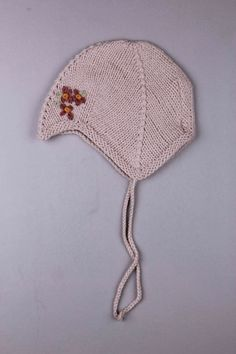 Girls & Children's Beige Accessories   Adams Kids Clothing   Noa Noa Baby Girls Knitted Hat   Child's Ages: 3-6 Months, 6-9 Months, 9-12 Months, 12-18 Months, 18-24 Months