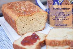 El pan era una de las comidas que mas extrañaba. Este pan paleolítico es Libre de gluten, libre de granos y azucares refinados. Excelente para la familia.