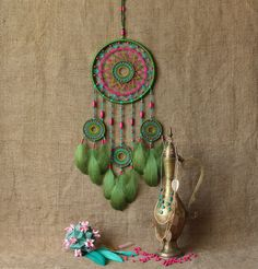 Boho dream catcher/Gypsy/Boho Decor/Boho gift