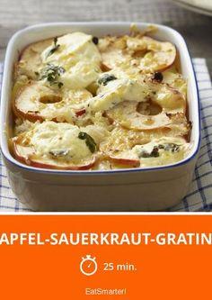 Apfel-Sauerkraut-Gratin - smarter - Zeit: 25 Min.   eatsmarter.de