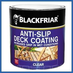 Blackfriar Anti Slip Resistant Decking Coating - 2.5 Litres by Blackfriar, http://www.amazon.co.uk/dp/B007OTI5PM/ref=cm_sw_r_pi_dp_JUmorb106NJ4W