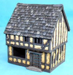 ME56 - Jetted 2 Storey Shop with Lift-off Thatched Roof