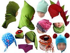 Ohrenklappenmütze + Beanie + Wendemütze + Kapuzenschal + Schlupfmütze + Zipfelmütze | Ku 44-58cm | Layyla bei DaWanda