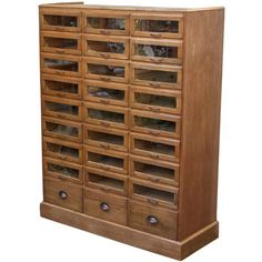 Haberdashery Cabinet from England - gives me shivers! makeup storage?!