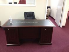 office depot sauder desk installed in Washington DC by office furniture installation eperts
