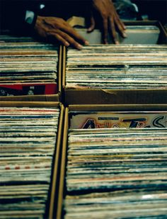 Vinyls - always a good look.