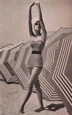 Fashion Magazine Editorial - California- John Engstead 1953