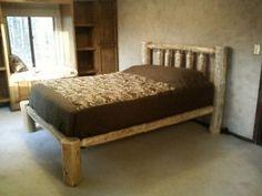 tall platform bed