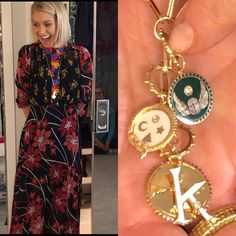 Kelly Ripa in a Duro Olowu dress and Suite 1521 Foundrae necklace. Live with Kelly Fashion Finder Duro Olowu, Kelly Fashion, Kelly Ripa, Style Finder, White Collar, Fashion Finder, Beautiful Dresses, Give It To Me, Geek Stuff