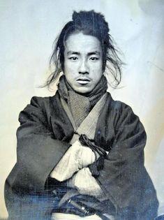 Oda Nobuyoshi, Japanese Civil Rights activist and dentist during the Meiji Era. Photograph taken in 1880 when he was Japanese History, Asian History, Japanese Men, Japanese Culture, Vintage Japanese, Ronin Samurai, Samurai Weapons, Samurai Art, Samurai Warrior
