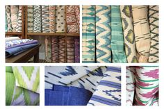 Decorate with textiles with the typical pattern of Mallorca