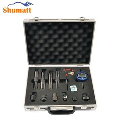 380.00$  Buy here - http://aifec.worlditems.win/all/product.php?id=32749001220 - Common Rail Injector Armature Lift Gap Valve Assy Tester Measuring Gauge CRIN1 CRIN2 CRI Repair Tool Kits for DENSO/BOSCH