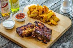 Lunchbox - self-service restaurant Tandoori Chicken, Steak, Lunch Box, Wedges, Restaurant, Ethnic Recipes, Pork, Restaurants, Steaks