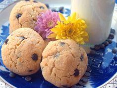 #Μπισκότα με #ινδοκάρυδο και σταγόνες #σοκολάτας #nostimiesgiaolous Biscuits, Muffin, Cookies, Eat, Breakfast, Food, Posts, Crack Crackers, Crack Crackers