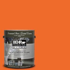 BEHR Premium Plus Ultra 1-gal. #S-G-240 Dragon Fire Semi-Gloss Enamel Interior Paint-375301 at The Home Depot