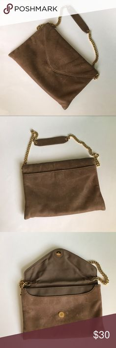 J.Crew shoulder bag J.Crew shoulder bag - 100% leather gently used ( some marks front/back) reflect the price J. Crew Bags Shoulder Bags
