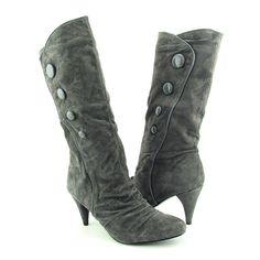CHINESE LAUNDRY Kicky Gray Boots