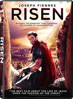 RISEN new on DVD and Blu-ray: Starring Joseph Fiennes, Tom Felton, Cliff Curtis, Peter Firth, Stephen Hagan and María Botto. The Best Films, Latest Movies, New Movies, Movies To Watch, Good Movies, Movies And Tv Shows, Christian Book Store, Christian Films, Movie List