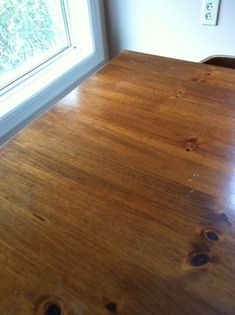 Have you ever removed the table cloth after a festive meal, only to find a hot dish or coffee pot has caused a white water stain on your lovely wood table? Your table is not ruined! Water Stain On Wood, Water Stains, Wood Table, Hardwood Floors, How To Remove, Stain Removers, Household Tips, Home, Hacks