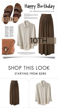 """""""Celebrate Our 10th Polyversary!"""" by virgamaleva ❤ liked on Polyvore featuring Isabel Marant, Acne Studios, Birkenstock, polyversary and contestentry"""