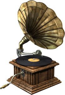 Gramophone - Try cranking up this baby!