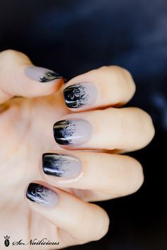ombre easy nail art