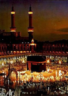 Makkah Mukarramah ~ beautiful night scene