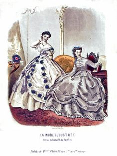 Medieval Fashion, Victorian Fashion, Oriental Fashion, Haute Couture Fashion, American Civil War, Vintage Ladies, Ball Gowns, Cool Style, Second Empire