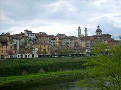 panorama di Ovada,Alto Monferrato