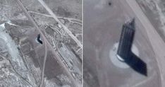 Huge Triangular Skyscraper Was Found Right Near Area 51 - In The Middle of Nowhere Extra Terrestrial, Ancient Mysteries, Blog, Blogging
