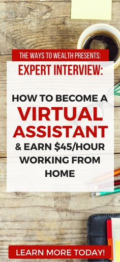 What skills do you need to become a virtual assistant? Where can you find qualified virtual assistant training? Learn this and more in an interview with virtual assistant expert Gina Horkey. how to become a virtual assistant | successful freelance writer | get started freelance writing | freelancing ideas #thewaystowealth #freelancing #freelance #makemoneyonline via @https://www.pinterest.com/thewaystowealth/