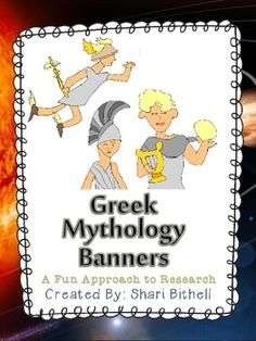 Research is a big part of Common Core. Start your students off researching Greek Mythology: Common Core Aligned for grades 5-8. Fun approach to a research project.