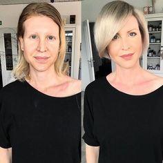 Fairy Makeup, Mermaid Makeup, Makeup Art, Medium Hair Styles, Short Hair Styles, Latest Short Haircuts, Before And After Haircut, 50s Hairstyles, High Fashion Makeup