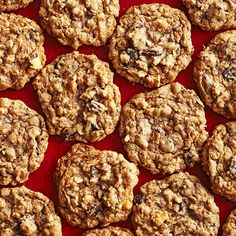 We love these Coconut, Cherry, and Chocolate Oatmeal Cookies! More cookie recipes: http://www.bhg.com/recipes/desserts/fruit/cherry-desserts/?socsrc=bhgpin090313oatmeal=16