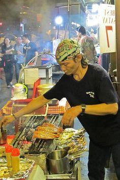 street food in Singapore