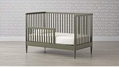 Hampshire Olive Green Toddler Rail #grow#Details#bed