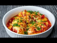Nimeni na va putea ramane indiferent, daca prepari pieptul de pui astfel Cookrate-Romania - YouTube Filets, How To Cook Chicken, Mozzarella, Lasagna, Meat, Cooking, Breakfast, Ethnic Recipes, Breast