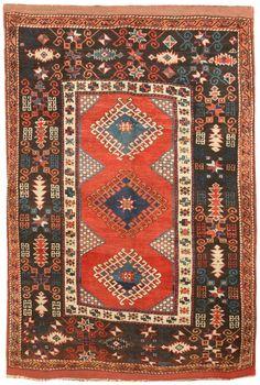 Antique Turkish Bergama Rug 19th c.