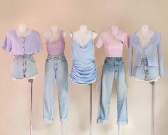 Kpop Fashion Outfits, Ulzzang Fashion, Edgy Outfits, Korean Outfits, Mode Outfits, Cute Fashion, Asian Fashion, Look Fashion, Girl Outfits