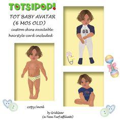 TOTSIPOP! TOT Baby Mesh Avatar 6 mos Finn