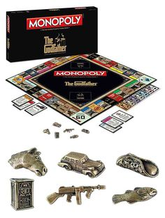 The Godfather Monopoly....haha...it's the Italian in me...I want one of these!