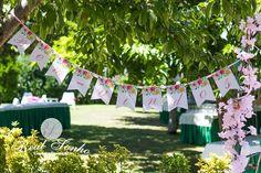 Batizado | Jardim Cor-de-Rosa Baptism decoration // party decoration ideas